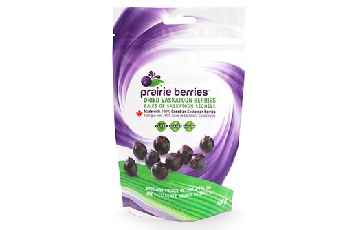 prairie berries dried saskatoon berry packaging