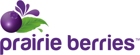 Prairie Berries Sticky Logo