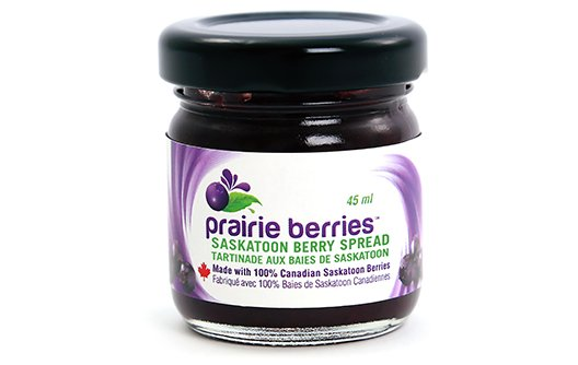 Saskatoon Berry Products - Chocolate, Sundae Topping, Pie Fill